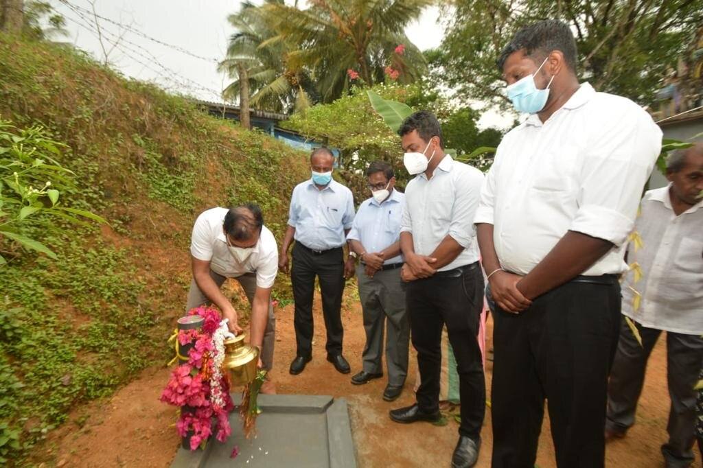 Commissioning of Walpola Rural Water Supply Scheme in Kegalle District